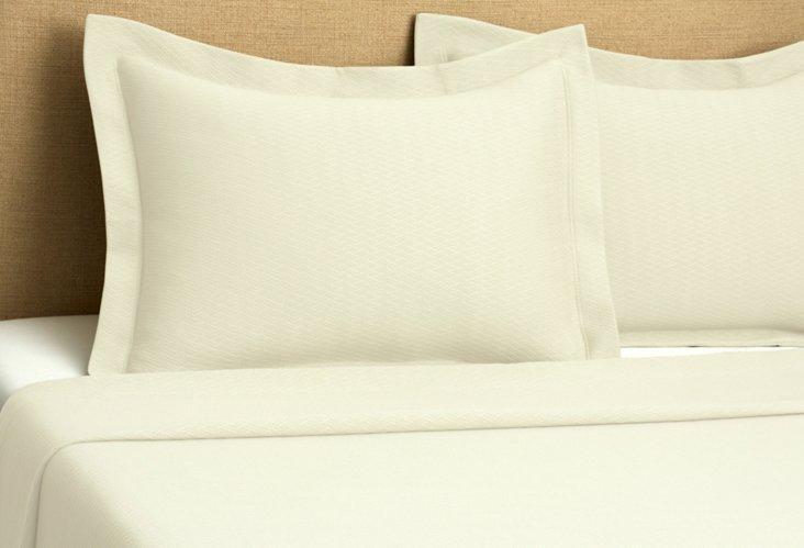Morada Blanket Cover Set, Ivory