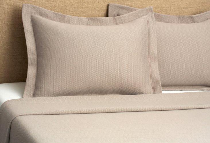Morada Blanket Cover Set, Taupe
