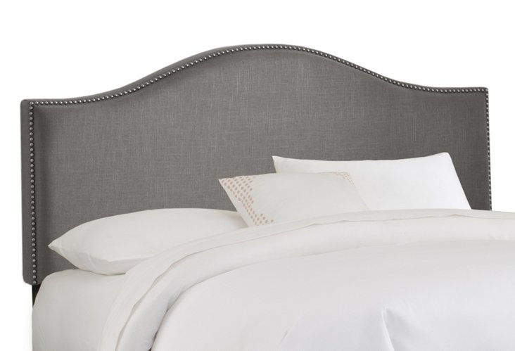 Gray Tallman Arched Headboard, Full