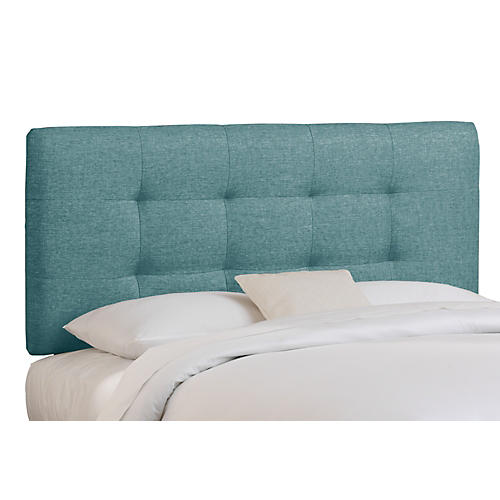 Alice Tufted Headboard, Teal