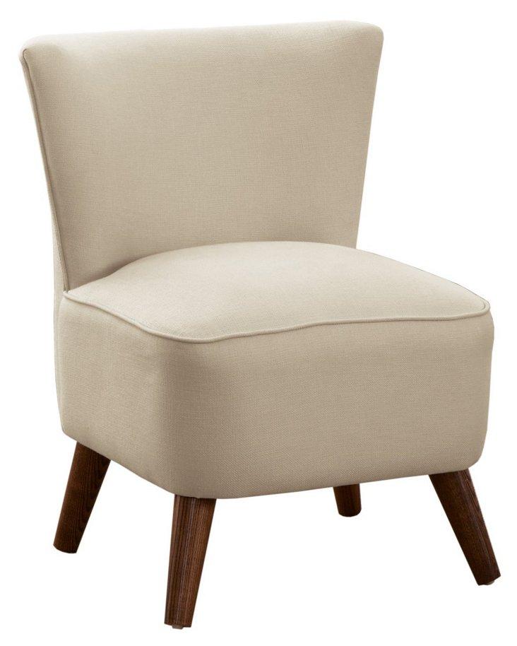 Barnes Modern Chair, Chalk