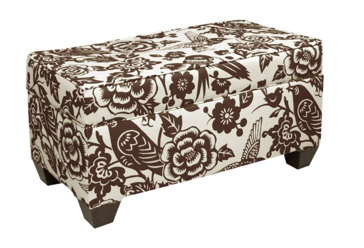 Arthur Storage Bench, Chocolate