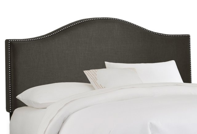 Tallman Arched Headboard, Graphite