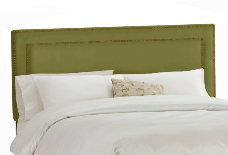 Bardot Headboard, Green