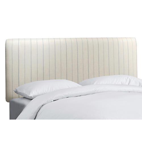 Novak Headboard, Cream/Sky