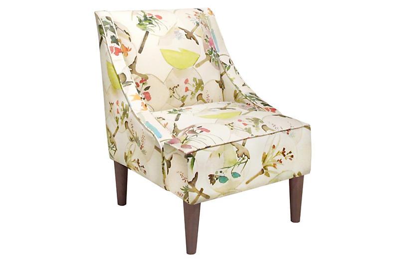 Quinn Swoop-Arm Chair