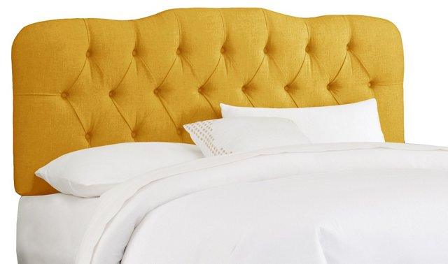 Davidson Tufted Headboard, Canary