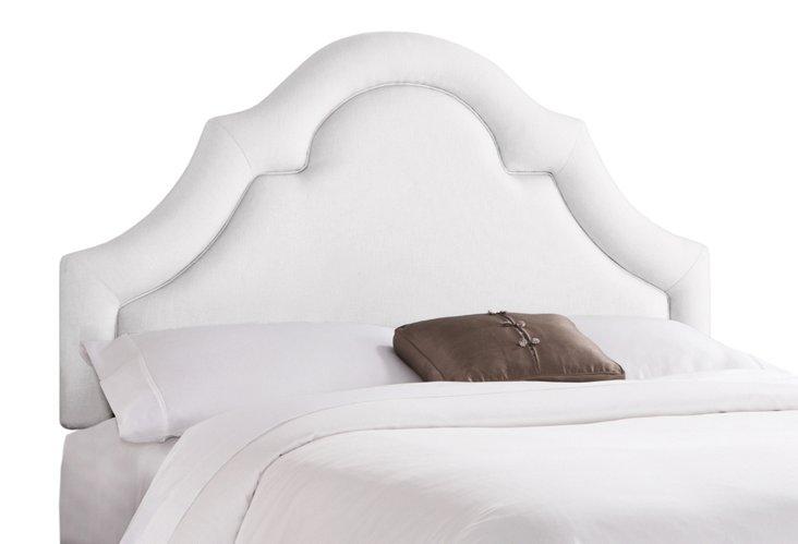 Marin Upholstered Headboard, White