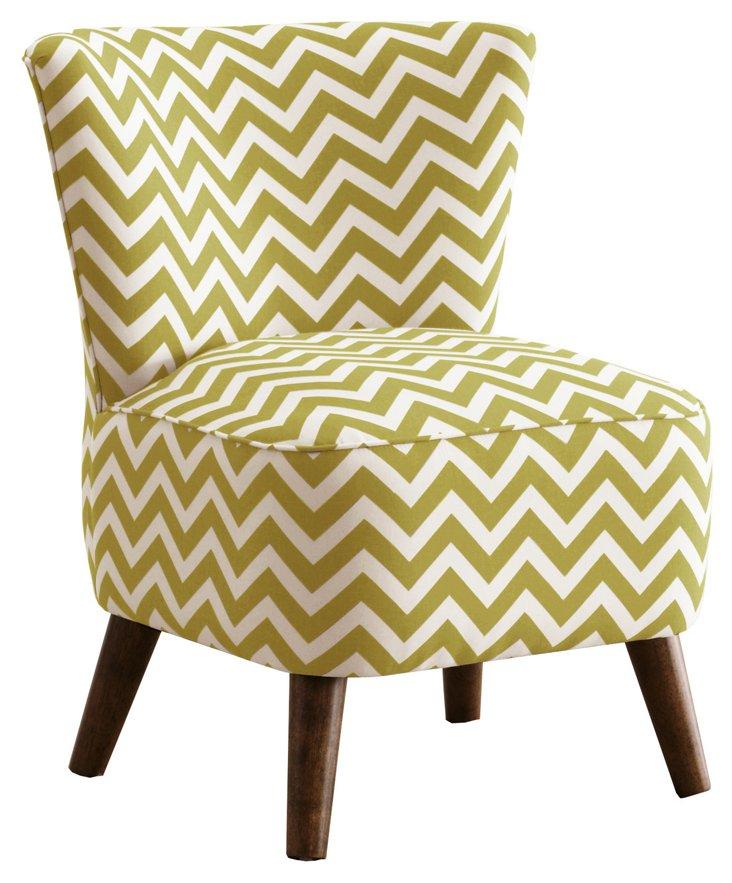 Barnes Modern Chair, Green