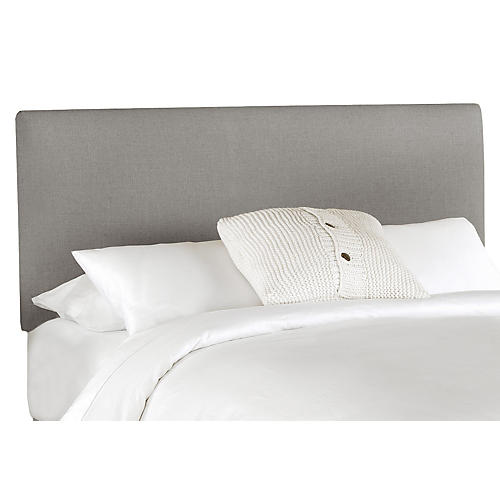 Novak Headboard, Gray Linen