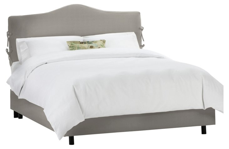 Eloise Slipcover Bed, Gray