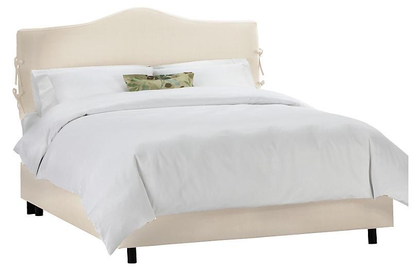 Eloise Slipcover Bed, Cream