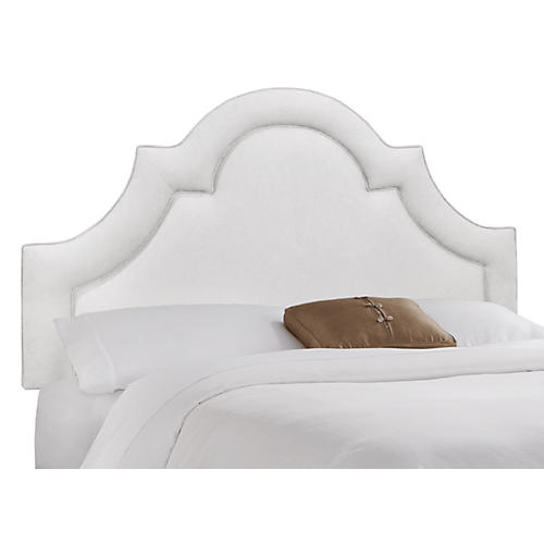 Kennedy Arched Headboard, White