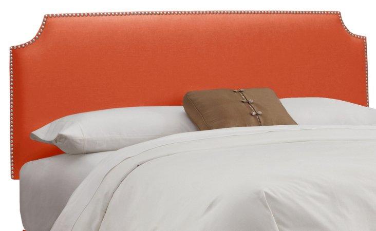 Ellis Nailhead Headboard, Orange