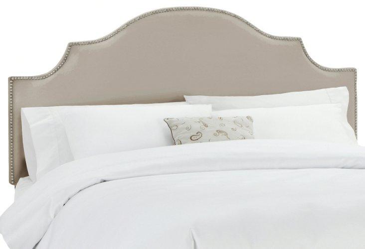 Miller Upholstered Headboard, Taupe