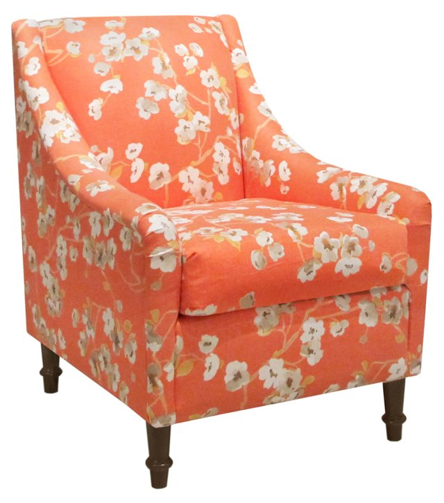 Holmes Accent Chair, Orange