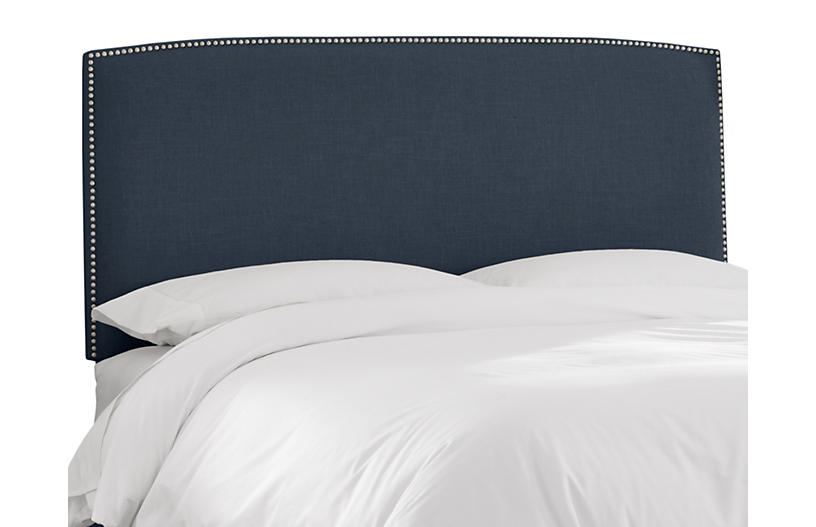 Everly Headboard, Navy