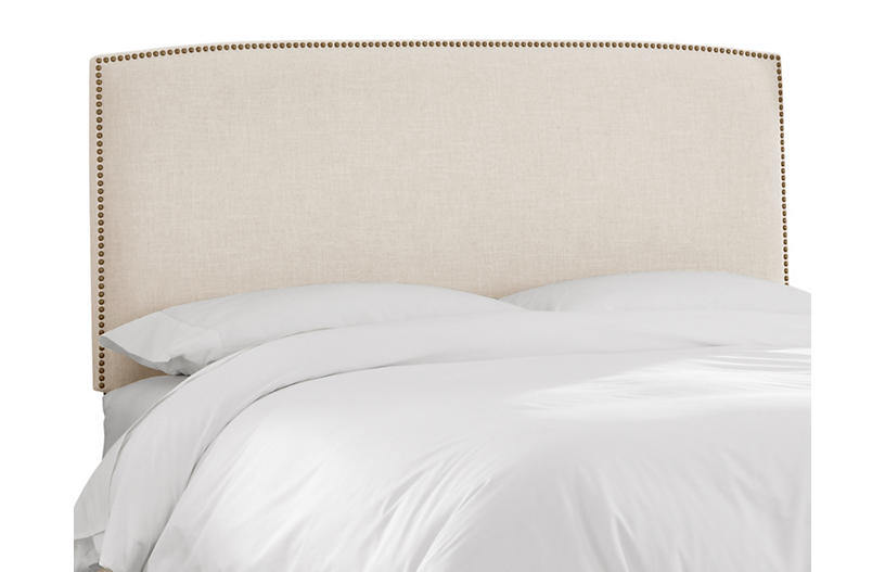 Everly Headboard, Talc