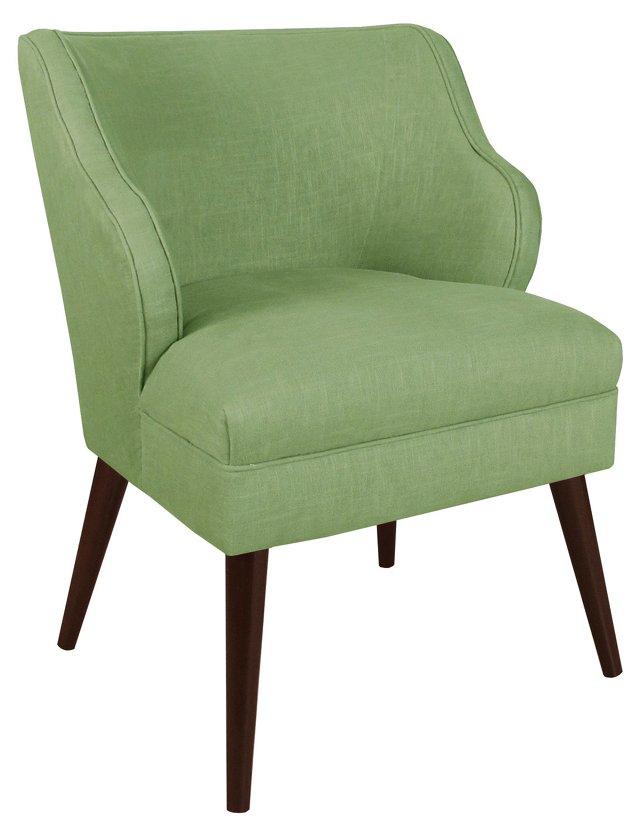 Kira Armchair, Mint Green
