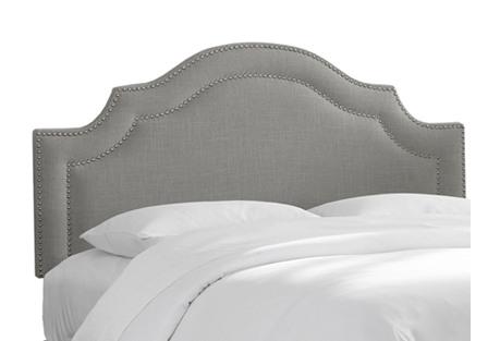 Bedford Headboard, Gray Linen
