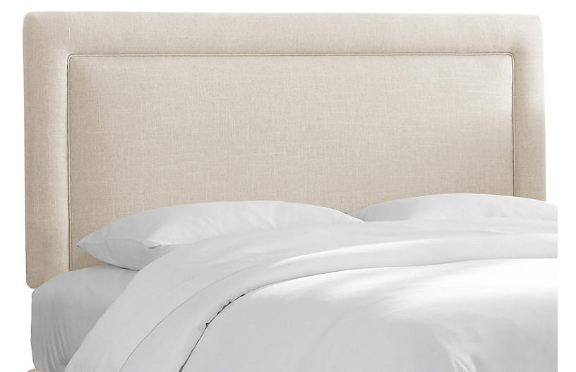Collins Headboard, Talc