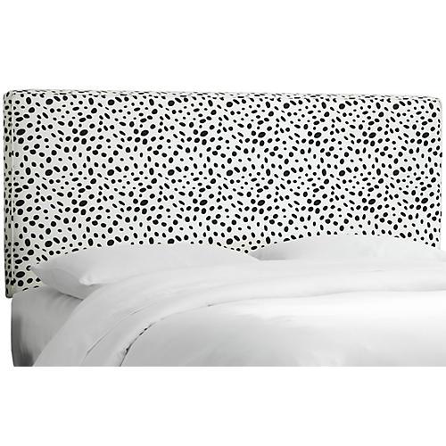 Macy Headboard, Black/White