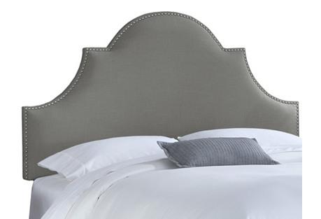 Hedren Headboard, Linen Gray*