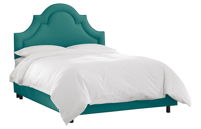 Kennedy Bed, Teal