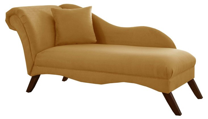 Ariel Chaise Lounge,  Moccasin