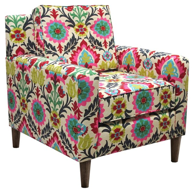 Winston Chair, Pink Multi