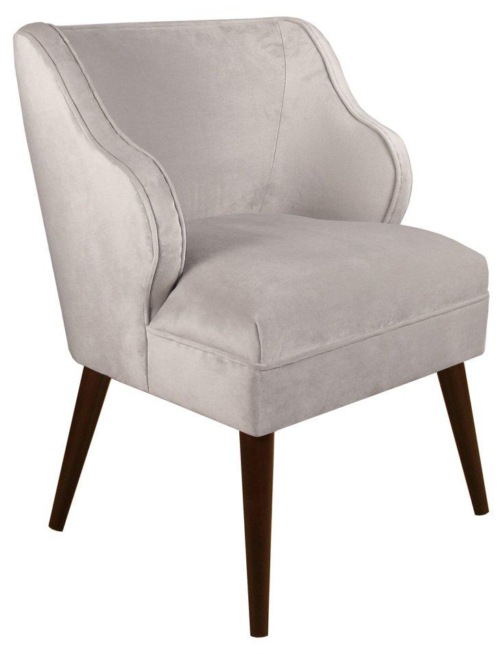 Kira Chair, Dove Gray