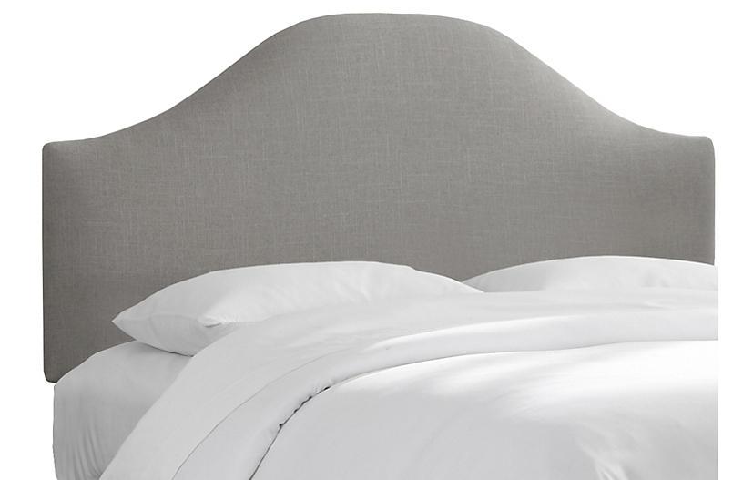 Libby Headboard, Gray Linen