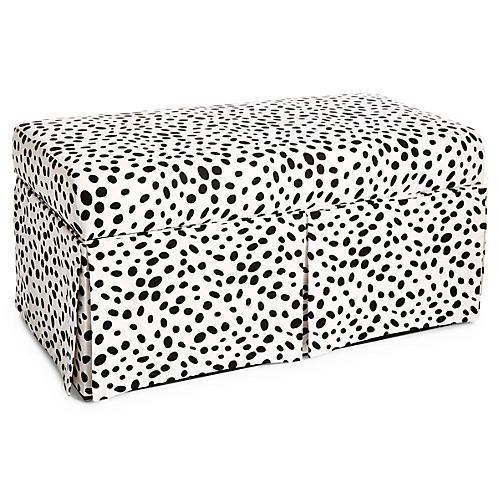 Hayworth Storage Bench, Dots