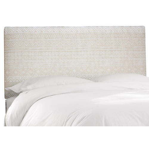 Novak Headboard, Natural Linen