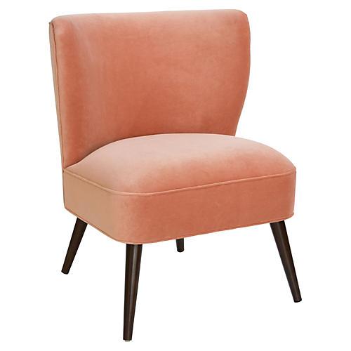Bailey Chair, Nectar Velvet