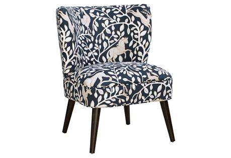 Bailey Chair, Navy Pantheon