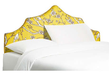 Camille Headboard, French Yellow