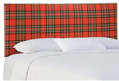 Loren Headboard, Stewart Red