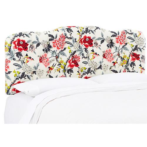 Davidson Tufted Headboard, Floral