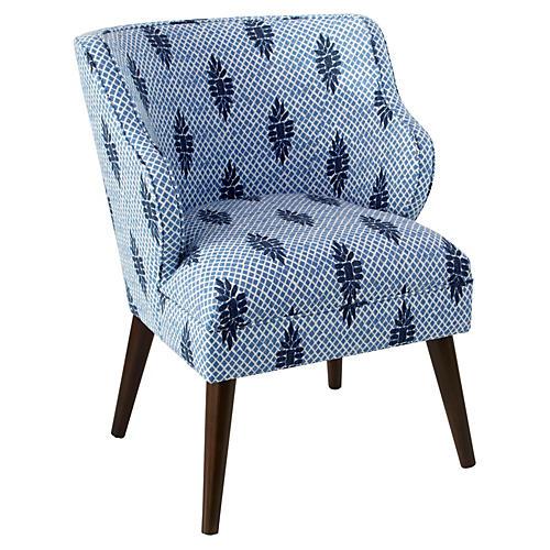Kira Accent Chair, Boca Medallion