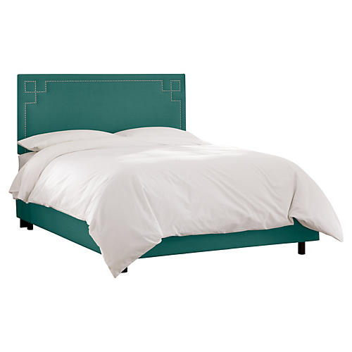 Aiden Bed, Teal