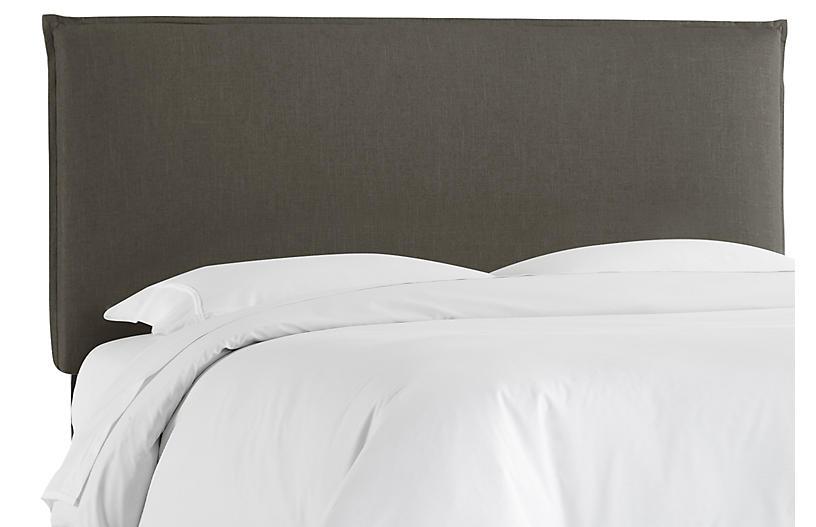 Frank Headboard, Slate Linen