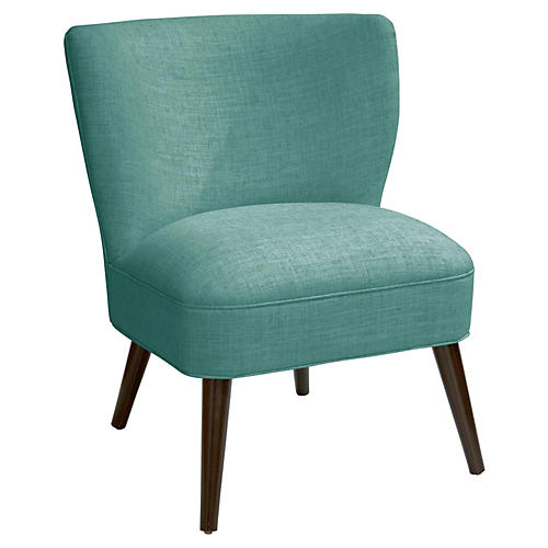 Bailey Chair, Teal