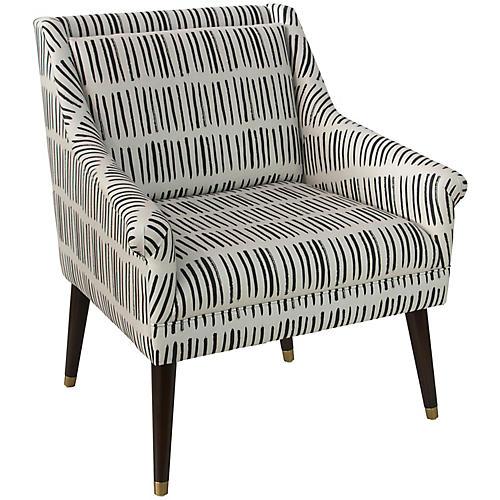Carson Chair, Dash Black