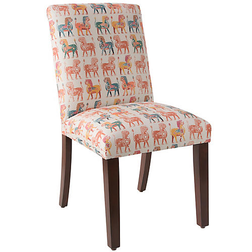 Shannon Side Chair, Lion Block