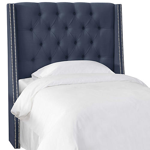 Sophia Kids' Headboard, Navy