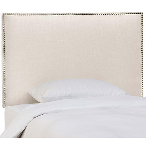 Loren Kids' Headboard, Talc