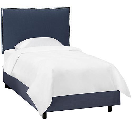 Loren Kids' Bed, Navy
