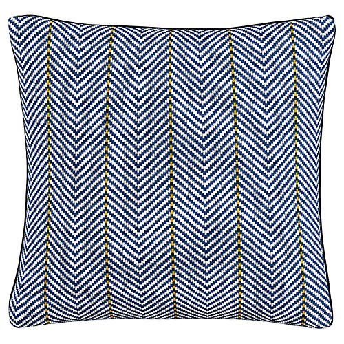 Braiden 20x20 Pillow, Navy