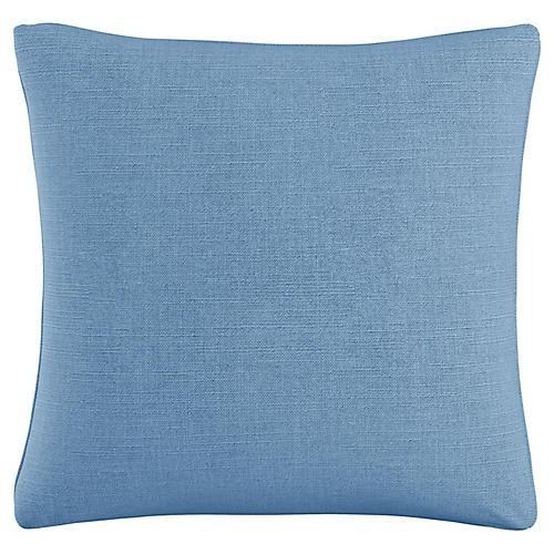 Mercedes 20x20 Pillow, Denim